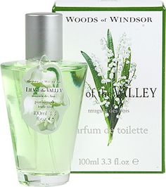 """Lily of the Valley is said to symbolize a return to happiness. The flower grows throughout the northern hemisphere and has been the subject of legend and myth. Woods of Windsor has been a purveyor of fragrance since 1770. A long time English floral favorite, made in England."" Perfect 2nd Anniversary scent.  #2nd Anniversary #Second Anniversary"