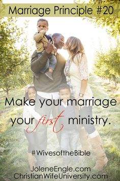 Marriage Principle #20 from the life of Priscilla, The Radical Wife- Wives of the Bible by Jolene Engle