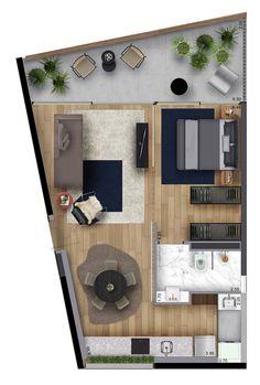 House Floor Design, Sims 4 House Design, Home Design Floor Plans, Home Building Design, Sims House, Small House Design, Modern House Design, House Floor Plans, Studio Apartment Floor Plans
