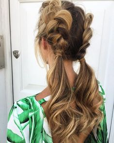 80 Pretty braid hairstyles you should try now - fishtail braid hairstyles ,hairstyle ideas ,updo ,messy updohairstye #ponytail #hairdown #longhairstyle