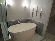 Beau Freestanding Tub Master Bath Renovation By Ideal Remodeling #Chicago