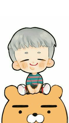 Bt 21, Wallpaper S, Namjoon, Hello Kitty, Army, Fan Art, Fictional Characters, Dibujo, Funny Memes