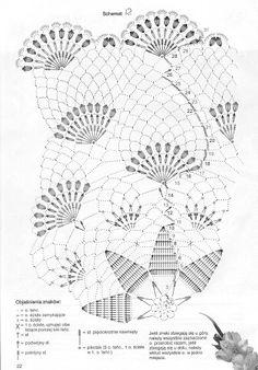 Scheme crochet no. Crochet Doily Diagram, Crochet Mandala, Crochet Stitches Patterns, Crochet Chart, Filet Crochet, Crochet Motif, Crochet Designs, Crochet Books, Thread Crochet