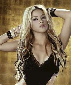 The gorgeous Shakira