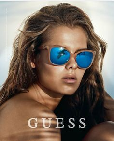 GUESS advert in SUNVISION March 2015