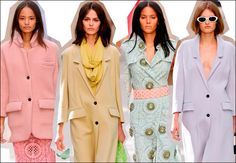 Curlitalk: Trending S/S 2014 for the Both of You: Pastels