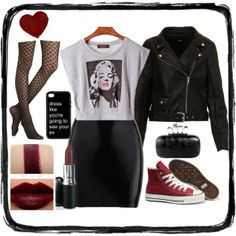 """""""Marilyn <3"""" by clauzzenlms on Polyvore"""