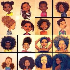 I m familiar with the artist Natural Hair Art Prints