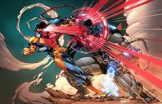 Marvel Comics, Marvel Heroes, Marvel Avengers, Comic Book Artists, Comic Books Art, Comic Art, Cyclops X Men, Brett Booth, Marvel Images