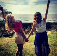 Martina Stoessel and Mercedes Lambre