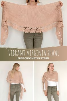 Crochet Shawls And Wraps, Crochet Poncho, Crochet Scarves, Crochet Clothes, Crochet Stitches, Crochet Patterns, Scarves & Shawls, Crochet Wrap Pattern, Diy Kleidung
