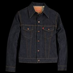 UNIONMADE - Levi's Vintage Clothing - 1967 Type III Trucker Jacket in Rigid - ($385) - Inspiration