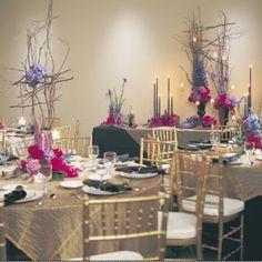 Wedding Reception Table Decorations | Wedding Reception Ideas - Tips for Weddings