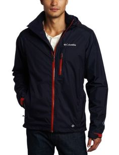 Columbia Men's Rain Tech II Jacket, Ebony Blue, X-Large Columbia ++You can get best price to buy this with big discount just for you.++