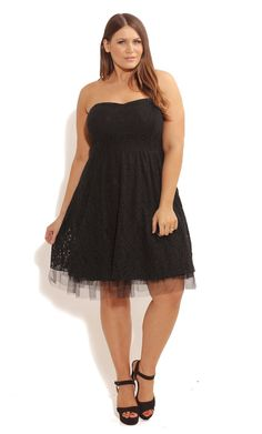 Shop the latest fashion in plus size clothing from City Chic. Shop dresses, jeans, tops, swimwear and so much more! Browse all our styles in sizes Chubby Fashion, Cute Fashion, Girl Fashion, Plus Size Fashion Dresses, Plus Size Dresses, Plus Size Corset, Prom, City Chic, Occasion Dresses