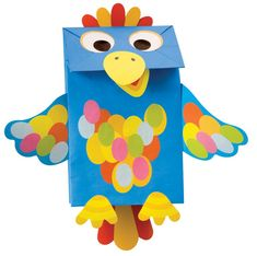 paper bag puppets | Little Hands Paper Bag Puppets Kit at Growing Tree Toys