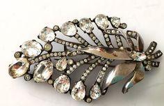 Eisnenberg Originals Sterling Silver Fur Clip Mid Century Estate Jewelry #Eisenberg