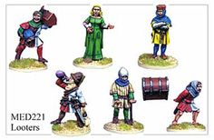 Medieval Hundred Years War - Looters - MED221