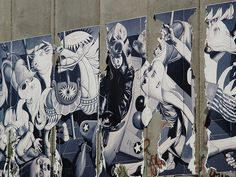 Watch the video on this site about fat loss secrets Picasso Guernica, Make Art, Urban Art, Fresco, Graffiti, Palestine, Wall, Artwork, Israel