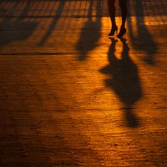 high heels at sunset, brooklyn | by Barry Yanowitz