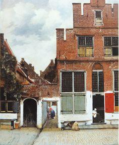 Jan Vermeer | The Little Street