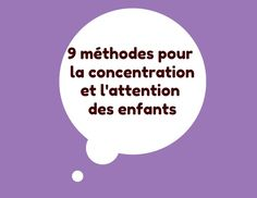 Mes 14 outils indispensables pour apprendre efficacement 9 methods for children's concentration and attention Education Positive, Kids Education, Classroom Organization, Classroom Management, English Units, Teacher Boards, French Classroom, Brain Gym, Teaching French