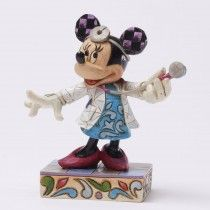 Jim Shore To Your Health - Doctor Minnie Personality Pose Figurine (Disney Tradition)