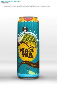 What: Tea Why: The design on the can has a vintage style and isn't a regular design that you would see as there's so many different aspects to the overall design