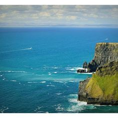 on an amazingly sunny day in it is we had there :) Cliffs Of Moher, Sunny Days, This Is Us, Ireland, London, Amazing, Water, Outdoor, Gripe Water