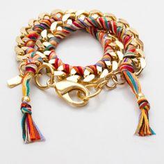 Double Wrap Bracelet Cajun Spice by Holbrooke by s.berry