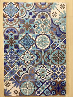 Art Chinois, Art Tiles, Art Japonais, Blue Tiles, Islamic Art, Backsplash, Countertops, Tent, Garden Design