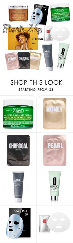 """""""#19"""" by edarazali ❤ liked on Polyvore featuring beauty, Kiehl's, Lapcos, Origins, Clinique, Lancôme, SK-II and Peter Thomas Roth"""