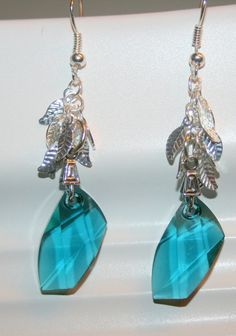 Check out this item in my Etsy shop https://www.etsy.com/listing/177956483/swarovski-crystal-earrings-aqua-earrings