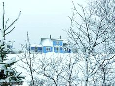 Winter in the Maritimes:  From what my father told me - it can get quite cold in the Maritimes.   #CDNGetaway