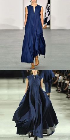 Blue Maxi Dresses - 2020 Fashions Woman's and Man's Trends 2020 Jewelry trends Looks Chic, Looks Style, Dress Skirt, Dress Up, Mode Jeans, Fashion Dresses, Maxi Dresses, Blue Dresses, Spring Fashion Trends