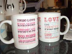 #love #mugprinting #customprint #weddings info@printzone.ie Mug Printing, Personalized Mugs, Novelty Print, Love Valentines, Love Notes, True Love, Red Roses, It Cast, Branding