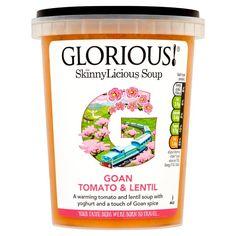 Soup    Goan Tomato & Lentil- Tomato & Lentil w/ Yoghurt & Touch of Goan Spice