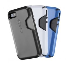 CandyShell Card for iPhone 4S  https://www.speckproducts.com/iphone-case/candyshell-card-for-iphone-4.html