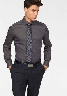 Bruno Banani Businesshemd Formbeständig durch Elastananteil Business  Hemden, Herren Mode b6c5929d5b