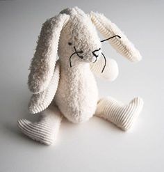 Handmade Gifts Eco Organic Natural Bunny Rabbit Doll Stuffed Animal Plush Toy *** Learn more by visiting the image link.
