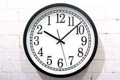 Backwards Wall Clock / Novelty Backwards Clock