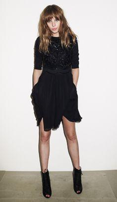 Black dress for Autumn