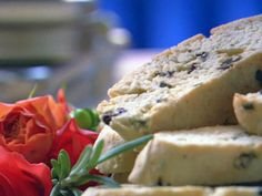 Picture of Wedding Biscotti Recipe- With Rosemary and Cranberries...sounds amazing