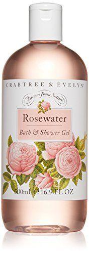 Crabtree & Evelyn Bath and Shower Gel, Rosewater, 16.9 fl. oz. Crabtree & Evelyn http://smile.amazon.com/dp/B00GHX662A/ref=cm_sw_r_pi_dp_MWMywb186TENR