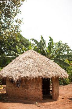 Uganda Hut | photography by http://www.almondleafstudios.com/blog