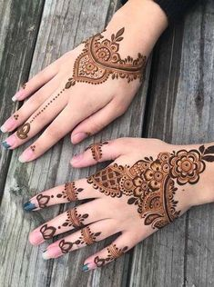 Here we have presented here some of the amazing shapes of mehndi designs for women to get fantastic hands' looks in year 2018.