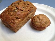 Zucchini Bread- Healthy Style!  Find more recipes at www.GrowingWeisser.com