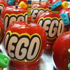 Lego Candy Apples By Bella Dolce Delights