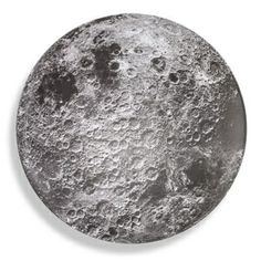 Celestial Serving Bowls: Moon, Earth, and Sun... I so want the moon!