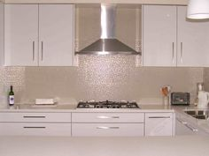 white textured tiles for a splash back - Google Search